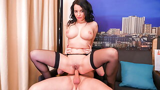 AmateurEuro #Sophia Laure - Brutal Anal Sex With Horny Daddy