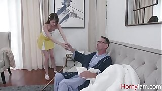 My Sick GrandFather Fucks Me Teen Cunt- Zoe Sparx