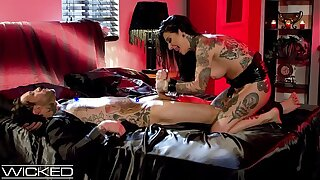 WickedPictures - Teen Watches Joanna Angel Fuck At Sex Party