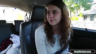 19yo stepdaughter sucks stepdad for car